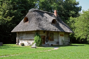 Wyjazd. Istny cottage.